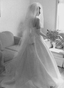 bride not the veil