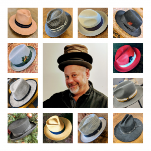 Bruce Hendrick is a man of many hats.